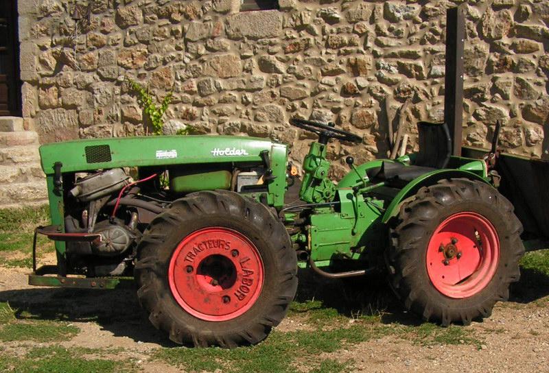 tracteur holder am2 avec moteur de 2cv. Black Bedroom Furniture Sets. Home Design Ideas