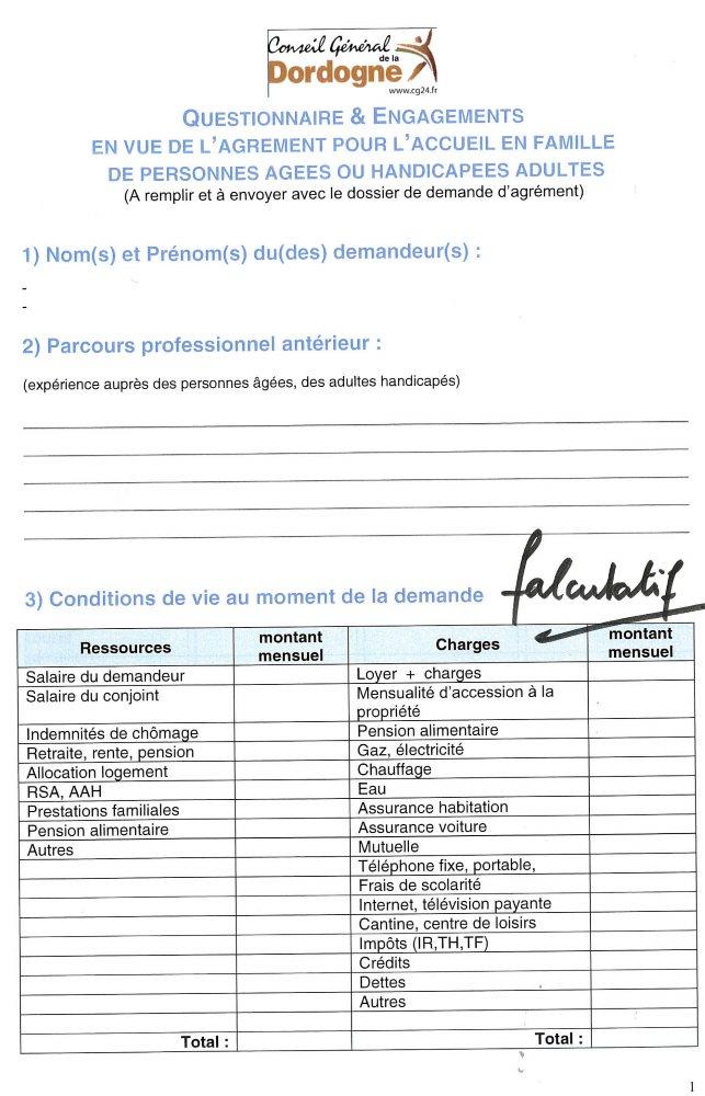 Annuaire De L Accueil Familial Social Par Departements Famidac